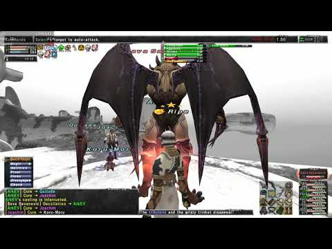 FFXI | Dynamis Divergence Jeuno | Farming Run on Thief! - смотреть