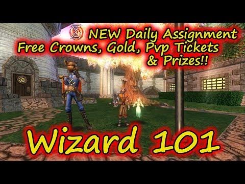 Wizard101 Daily Assignment New Quest - смотреть онлайн на