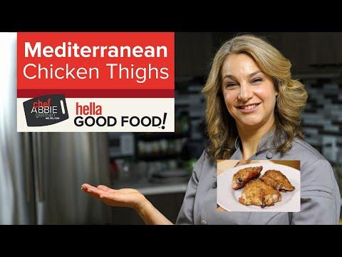 Crispy Mediterranean Chicken Thighs