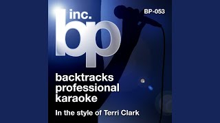 Unsung Hero (Karaoke With Background Vocals) (In the Style of Terri Clark)