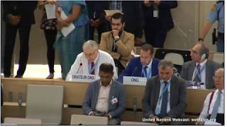 Prof. Gerald Steinberg at the UN Human Rights Council