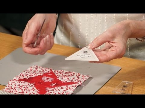Using the Mini EZ Quilting rotary templates with Valerie Nesbitt