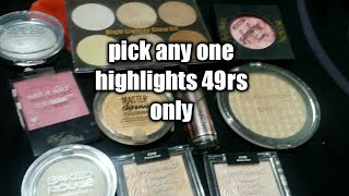 Pick Any Highlight for rs 49 only Makeup Sale|Affordable makeup India|Eid spacial|Eid#serials