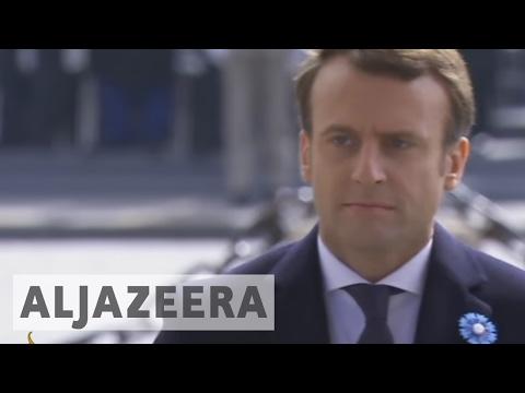 France: Emmanuel Macron set to take office as president