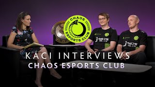 Chaos Esports Interview with Kaci - The International 2019