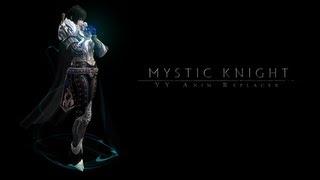 YY Anim Replacer - Mystic Knight v1.0.0 for Skyrim