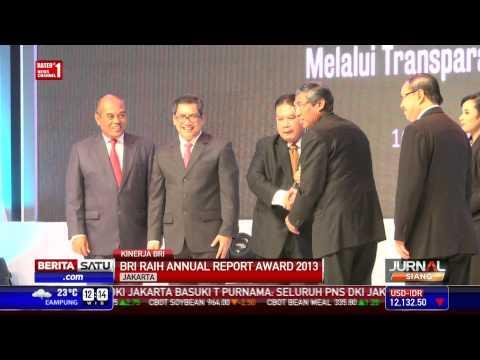 BRI Raih Annual Report Award 2013