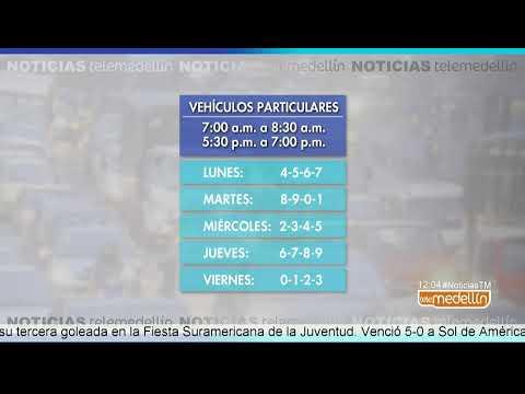 El 2 de abril regresa la medida del pico y placa en Medellin [Noticias] - Telemedellin