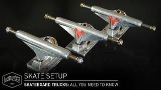 SKATEBOARD TRUCKS: All You Need To Know – Skate Setup | Titus