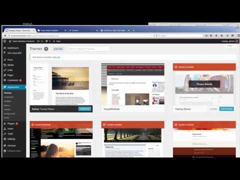 בניית אתרים סרטון מס' 3 – שדרוג אתר וורדפרס