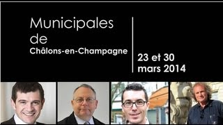 preview picture of video 'Municipales de Châlons-en-Champagnes : 4 candidats, 2 questions'