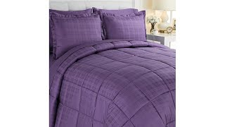 JOY 7pc Luxury Bedding With Warm   Cool Temp Technology