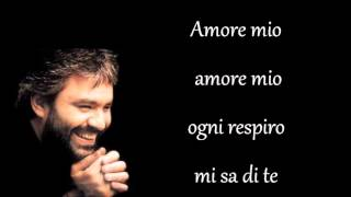 Andrea Bocelli  Semplicemente (Canto per te) testo