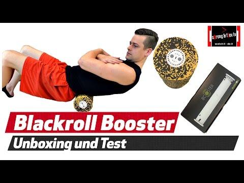 Blackroll Booster - Faszientraining mit Vibration - Unsere Meinung
