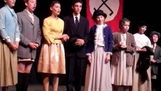 "Morgan Seftel as Captain Von Trapp in The Sound of Music ""Edelweiss/So Long, Farewell"" F Ws 2014"