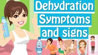 Dehydration Symptoms, Signs You Need More Water