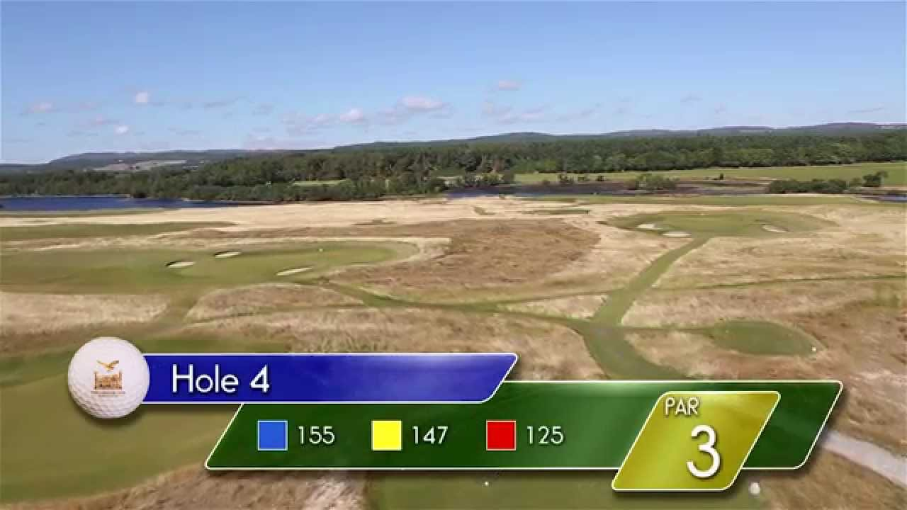 Carnegie Links Hole 4 - YouTube video