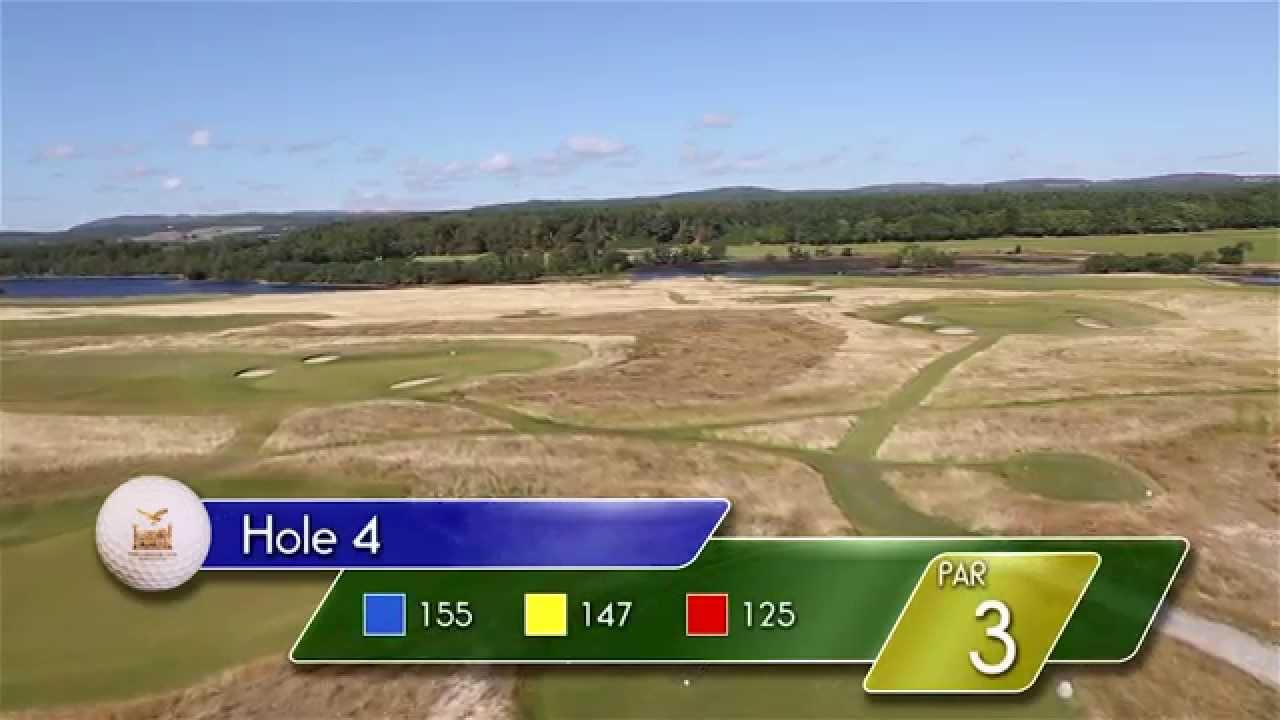 Carnegie Links Hole 4 - YouTube video