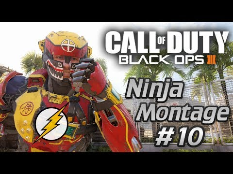 Call of Duty: Black Ops 3 - Ninja Montage #10 (Funny skits, Ninja defuse, Knifing feeds & More)!