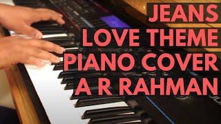 Jeans Piano Theme - A.R.Rahman - YouTube