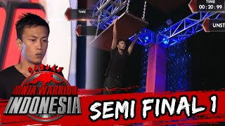 Video Ade Wandira Terjatuh Di Unstable Bridge [Sasuke Ninja Warrior Indonesia]  [3 April 2016]