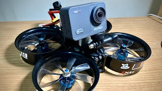 AKASO V50X Video Test Footage on FPV Drone Cinewhoop