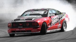 Ford Mustang GT w/ Borla Exhaust - Drifting & Lovely Sound