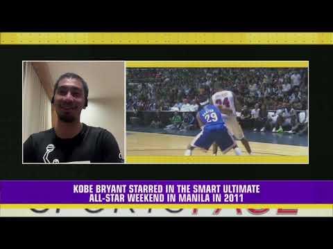 Tenorio's most memorable Kobe Bryant experience