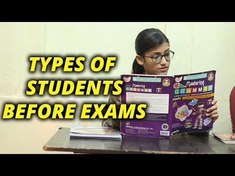 Types Of Students Before Exams | Samreen Ali
