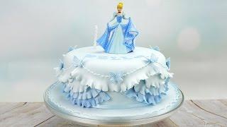 Cinderella Princess Birthday Cake