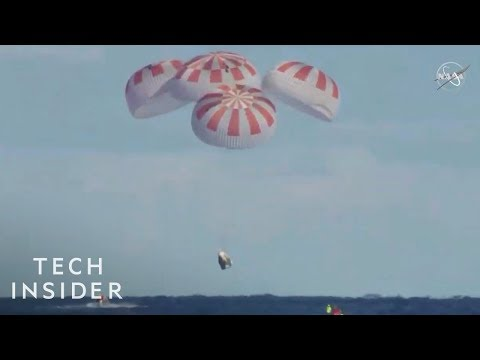 SpaceX Crew Dragon Capsule Returns to Earth