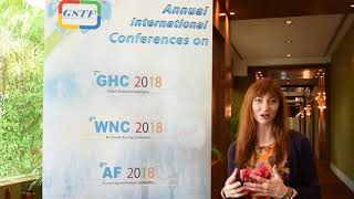 Ms. Melodie Durfee at AF Conference 2018 by GSTF Singapore