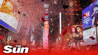 New York rings in 2020 with spectacular traditional New Year's Eve Times Square Ball Drop