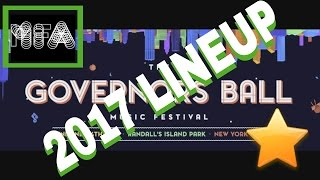 The Governors Ball 2017 Lineup Is Here! TOOL CHANCE THE RAPPER PHOENIX CHILDISH GAMBINO LORDE FLUME