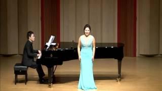 소프라노 강경이(Soprano Kang KyungYi) - Sous le ciel de paris - L.Renaud  - Piano. Kim BumJun