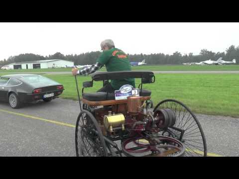Benz 1885 aansit en ry