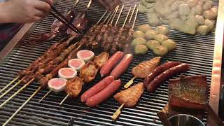 preview picture of video 'Chinese street food compilation - Yunnan Mile'