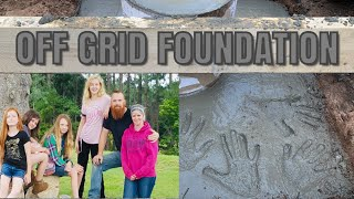 Incredible Off-Grid Family of Girls Help Mom and Dad Build a 2 Story Addition | Off Grid Cabin |
