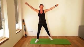 Power Workout mit Claudia