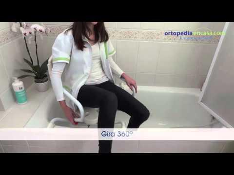 Asientos giratorios Aruba y Sorrento para Bañeras de 71 a 76 cm. Ortopediaencasa.com