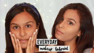 My Everyday Makeup Routine | Indian Skin | Quick College/Work Makeup