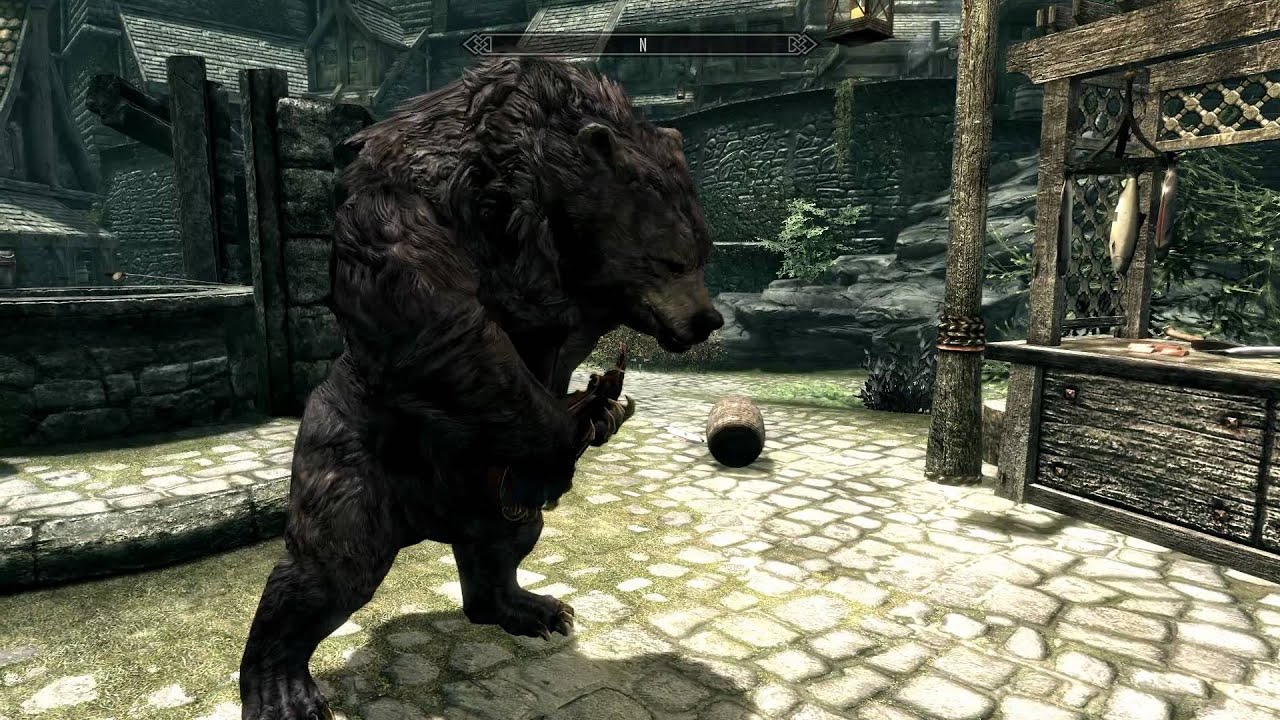 Now You Can Summon A Dancing Bear In Skyrim (It Can Also Play A Musical Instrument)