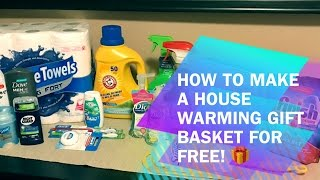 How To Make A Housewarming Gift For FREE!!