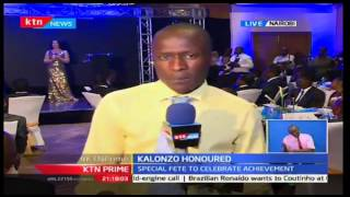 KTN Prime: Kalonzo honoured as African Dignitary Man of the year,18/10/2016