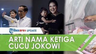 Arti Nama Unik Ketiga Cucu Jokowi, Jan Ethes Srinarendra, Sedah Mirah, dan La Lembah Manah