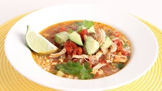 Quick Chicken Rice & Lime Soup Recipe - Laura Vitale - Laura In The Kitchen Episode 973