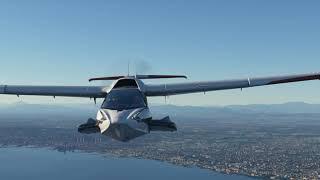 Napoli to Positano - Fly the Amalfi Coast for a weekend getaway - MS Flight Simulator 2020
