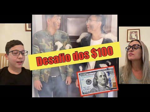 DESAFIO, TENTE NO RIR, VALENDO $100