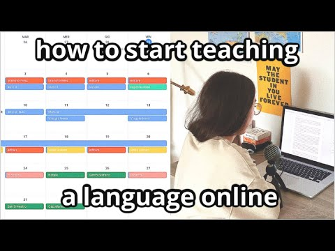 How to start teaching a language online [subs]