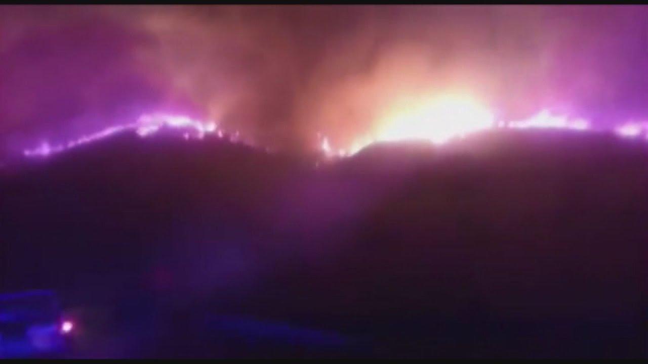 Μπαράζ πυρκαγιών στην περιοχή των Χανίων